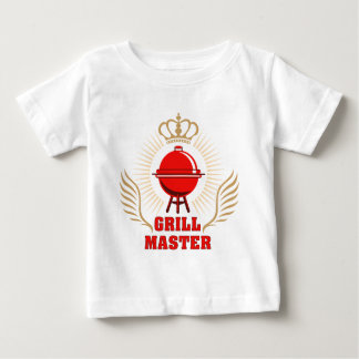 king OF the grill grill master Baby T-Shirt
