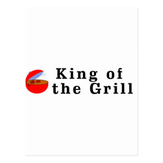 King of the Grill Postcard