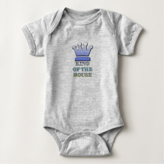 King of the House Baby Bodysuit