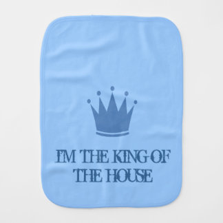 KING OF THE HOUSE BURP CLOTH