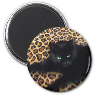 King of the Jungle 6 Cm Round Magnet
