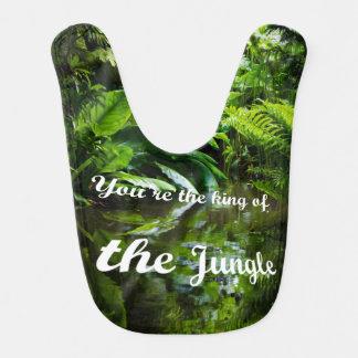 King of the jungle bib