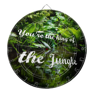 King of the jungle dart board
