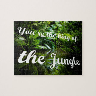 King of the jungle jigsaw puzzle