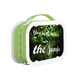 King of the jungle lunch box