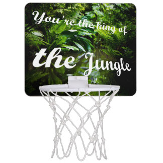 King of the jungle mini basketball hoop