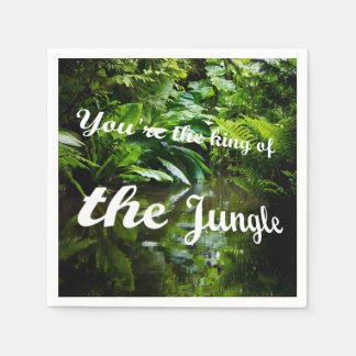 King of the jungle paper napkins