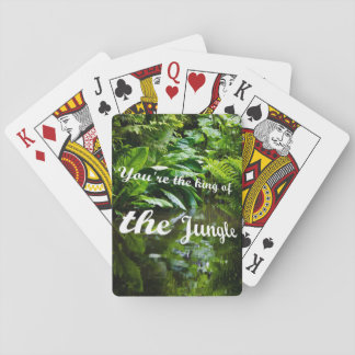 King of the jungle playing cards