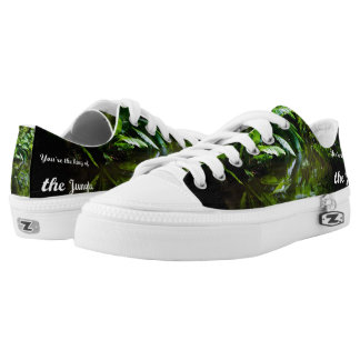 King of the jungle printed shoes