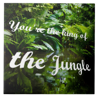 King of the jungle tile