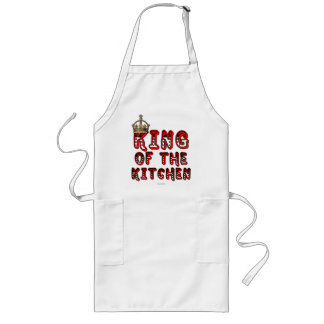 King of the Kitchen Long Apron