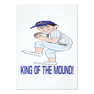 King Of The Mound 13 Cm X 18 Cm Invitation Card