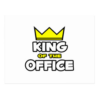 King of the Office Post Cards