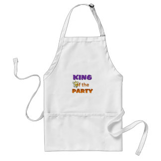 King of the party apron