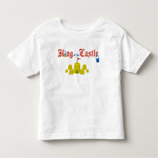 King of the Sand Castle Toddler T-Shirt