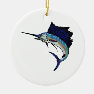 King of the Sea Ceramic Ornament