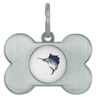 King of the Sea Pet Tags