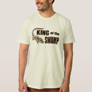 King of the Swamp - Gator Hunter T-Shirt