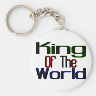 King Of The World Key Ring