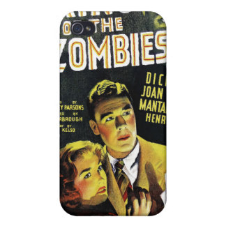 King of the Zombies iPhone Case iPhone 4 Cases