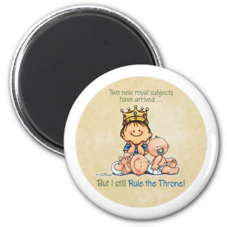 King of Twins - Big Brother magnet