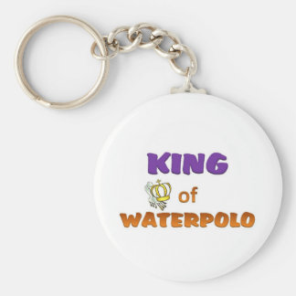 King of waterpolo key ring