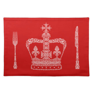 King or Queen Crown Placemat