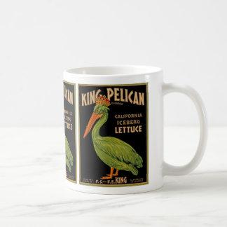 King Pelican Brand Lettuce Coffee Mug