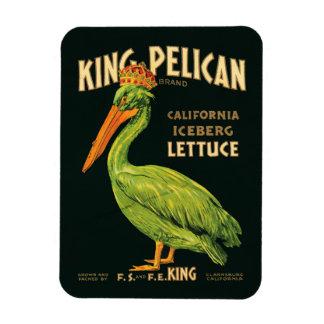 King Pelican Iceberg Lettuce Magnet
