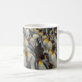 King penguin colony, Falklands Coffee Mug