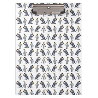 King Penguin Frenzy Clipboard (choose colour)