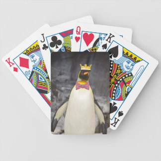 King Penguin Ice King Chillin' Bicycle Playing Cards