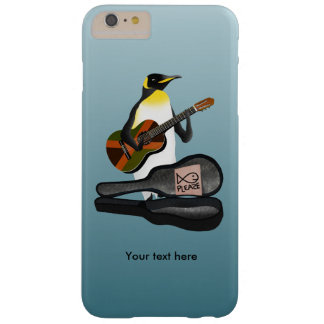 King Penguin Reggae Guitar Barely There iPhone 6 Plus Case