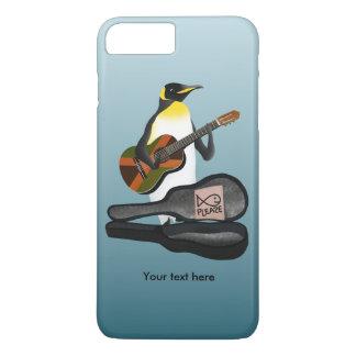 King Penguin Reggae Guitar iPhone 8 Plus/7 Plus Case