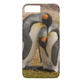 King penguins caressing, Falkland iPhone 8 Plus/7 Plus Case