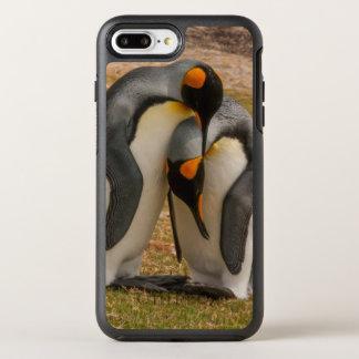 King penguins caressing, Falkland OtterBox Symmetry iPhone 8 Plus/7 Plus Case