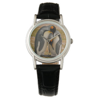 King penguins caressing, Falkland Wrist Watches