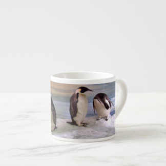 King penguins espresso cup