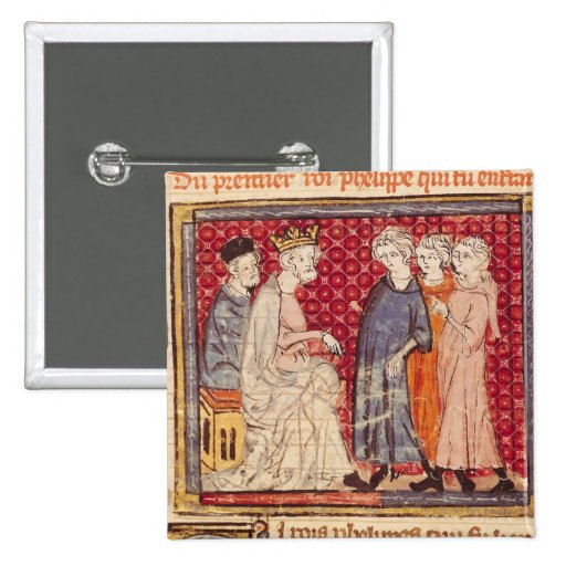 King Philippe I , Grandes Chroniques de France Pin