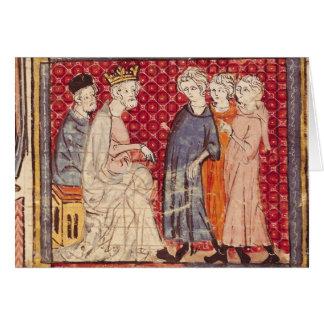 King Philippe I , Grandes Chroniques de France Card