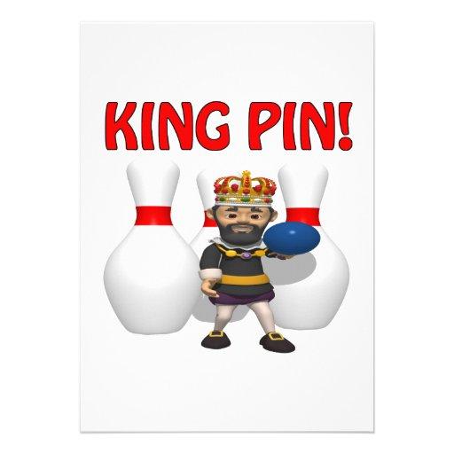 King Pin Invites