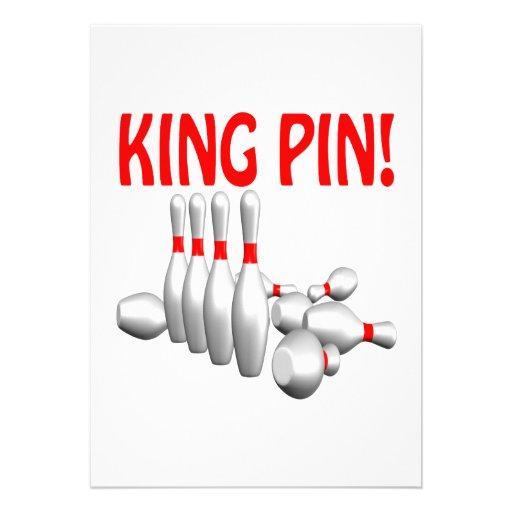 King Pin Invitations
