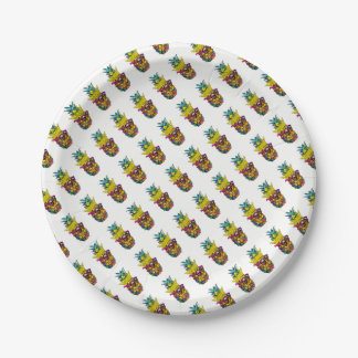 King Pine Paper Plate