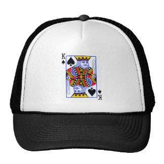 King Playing Card Cap