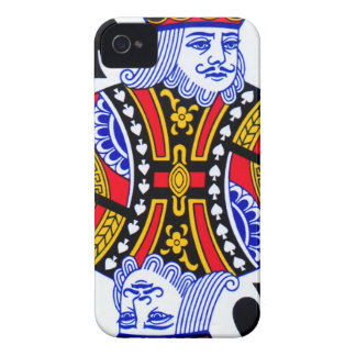 King Playing Card iPhone 4 Cases