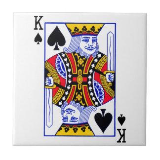 King Playing Card Tile