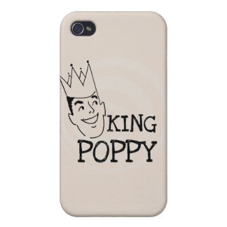 King Poppy T-shirts and Gifts iPhone 4 Cases