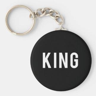 King Print Key Ring