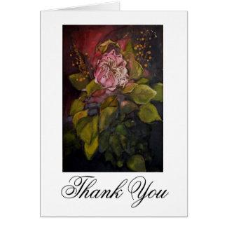 King Protea Thank You card