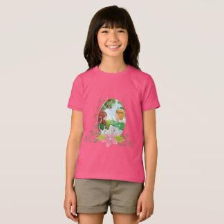 King & Queen Girls' American Apparel T-shirt